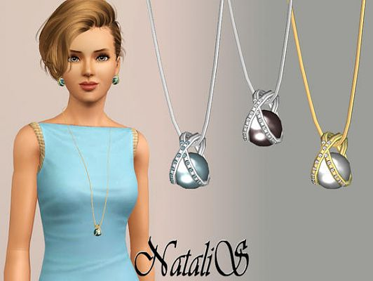 Sims 3 jewelry, accessories, necklace, pendant