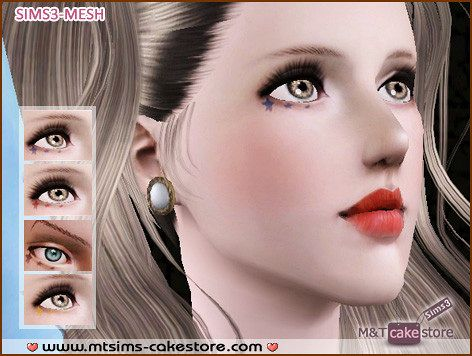 Sims 3 blush, makeup, female, eyeshadow