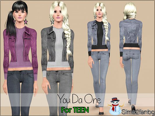 Sims 3 clothing, fashion, outfit, female, teen
