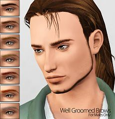 Sims 3 brows, eyebrows, genetics