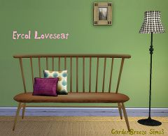 Sims 3 loveseat, livingroom, furniture