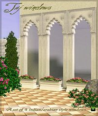 Sims 3 windows, arabian style, build