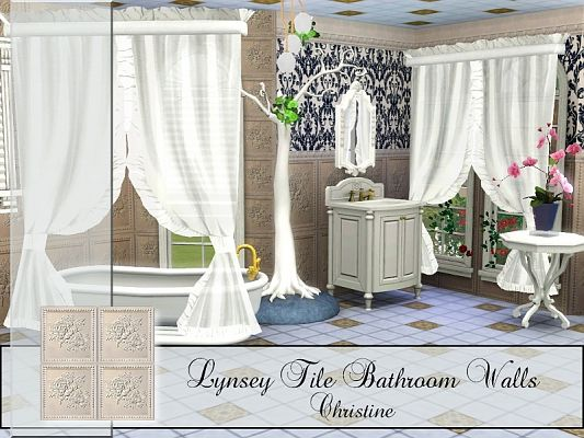 Sims 3 patterns, decor, objects