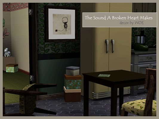 Sims 3 wall art, decor, objects, paintings