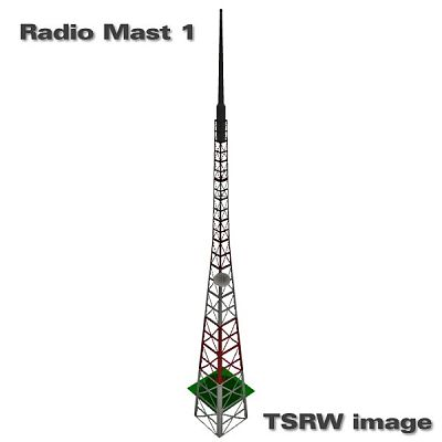 Sims 3 radio, masts, objects