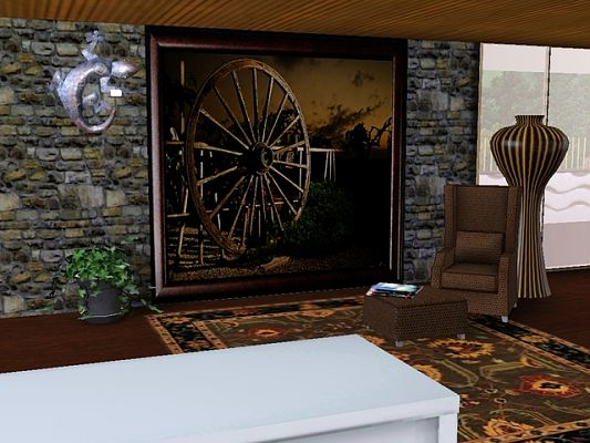 Sims 3 paint, paintings, decor, decoration, objects