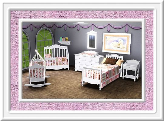 Sims 3 kids, room, furniture, objects, decor