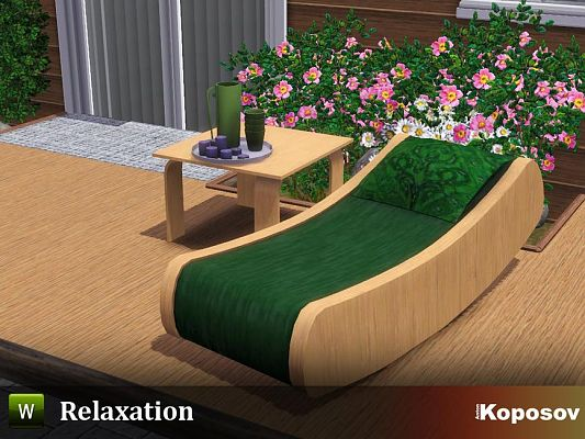 Sims 3 outdoor, objects, decor