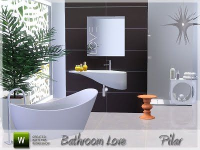 Sims 3 bath, bathroom, furniture, objects