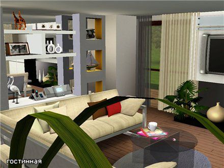 Sims 3 house, build, lot, residential