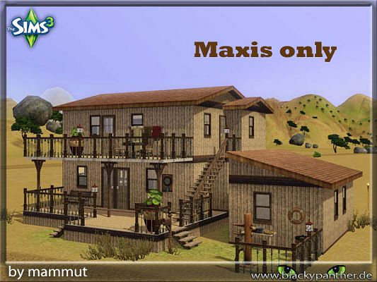 Sims 3 house, build, lot, residential, community