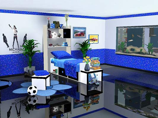 Sims 3 bed, bedroom, furniture, objects, kids