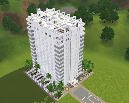 Sims 3 house, build, lot, residential, apartament