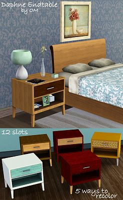 Sims 3 table, furniture, object