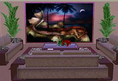 Sims 3 paintings, objects, decor