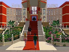 Sims 3 hotel, casino, lot, community