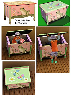 Sims 3 nursery, furniture, decorative, objects