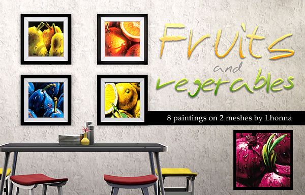 Sims 3 painting, decorative, object