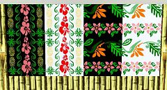 Sims 3 floral, Hawaii, pattern