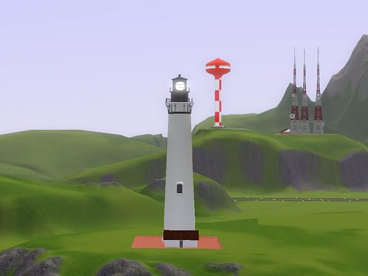 Sims 3 lighthouse, decor, objects
