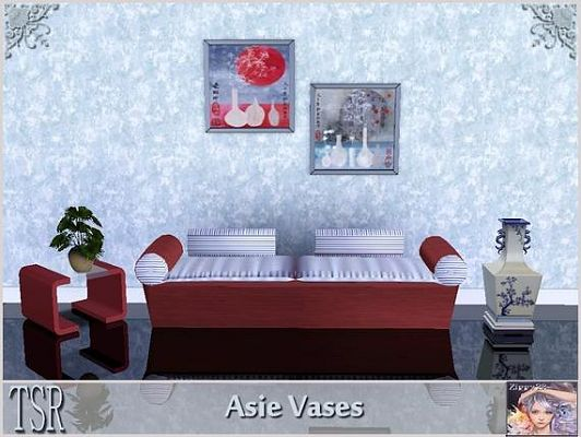 Sims 3 vases, objects, decor, paint, painting