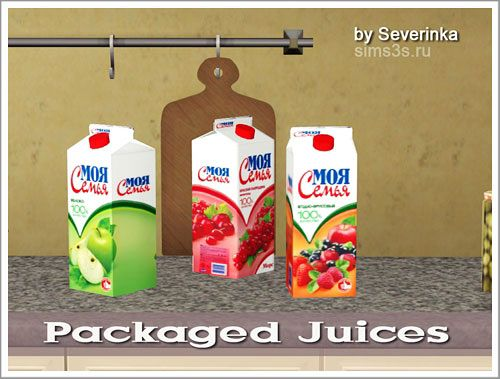 Sims 3 juice, decor, objects, kitchen