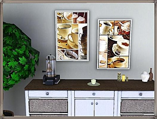 Sims 3 paintings, decorative, objects