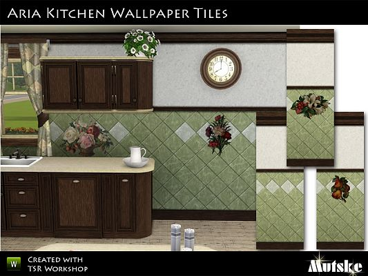Sims 3 patterns, tiles, objects