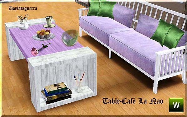 Sims 3 coffee table, furniture, object