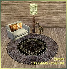 Sims 3 rugs, decor, object