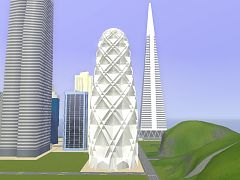 Sims 3 commercial, lot, building