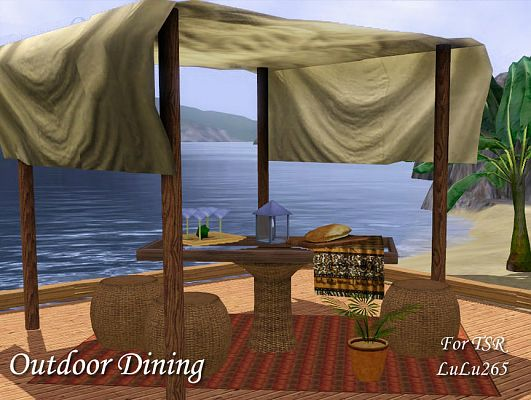 Sims 3 diningroom, objects, decor