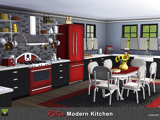 Sims 3 kitchen, furniture, set, objects