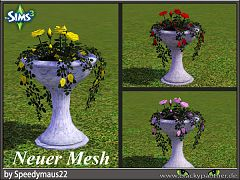 Sims 3 flowers, garden, objects, decor