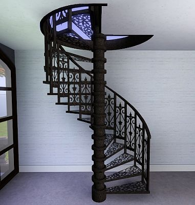 Sims 3 stair, build, arhitecture, staircase, spiral