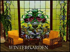 Sims 3 windows, furniture, table, armchair, objects, set