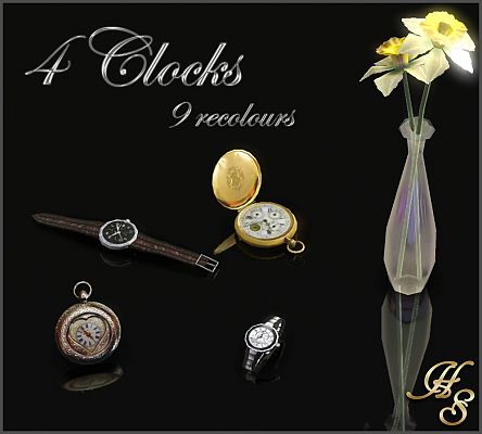 Sims 3 watch, decor, objects