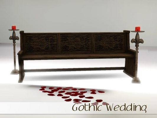 Sims 3 gothic, decor, weeding, objects