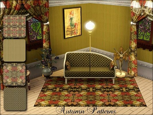 Sims 3 patterns