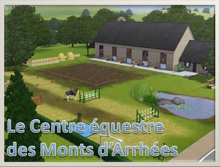 Sims 3 lot, community, building