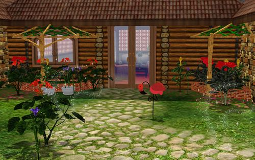 Sims 3 outdoor, objects, decor, garden