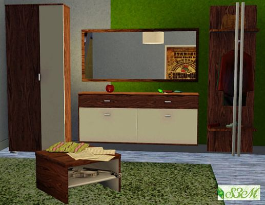 Sims 3 wardrobe, bedroom, furniture, objects