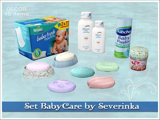 Sims 3 bathroom, objects, decor, babycare