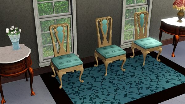 Sims 3 furniture, chair, dinning, object