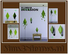 Sims 3 lamp, lighting