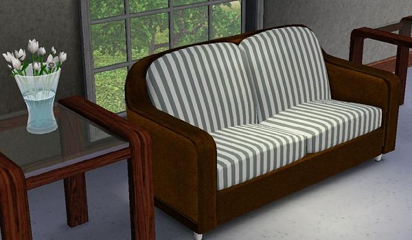 Sims 3 loveseat, furniture, object