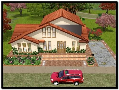 Sims 3 house, build, lot
