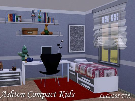 Sims 3 kids, bedroom, room
