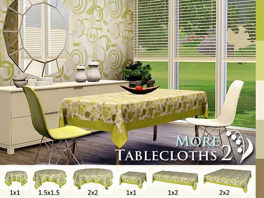 Sims 3 tablecloth, decor, object