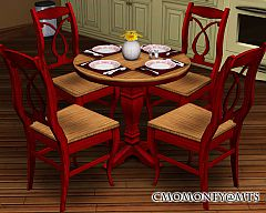 Sims 3 dining, chair, table, kitchen